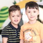 Zwei Jungs bei den WandseWichten