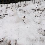 Mini Schneemänner, Schnee