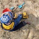 Sandkiste, Draußen spielen